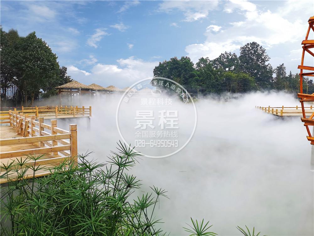 人造雾造景,水景人造雾系统