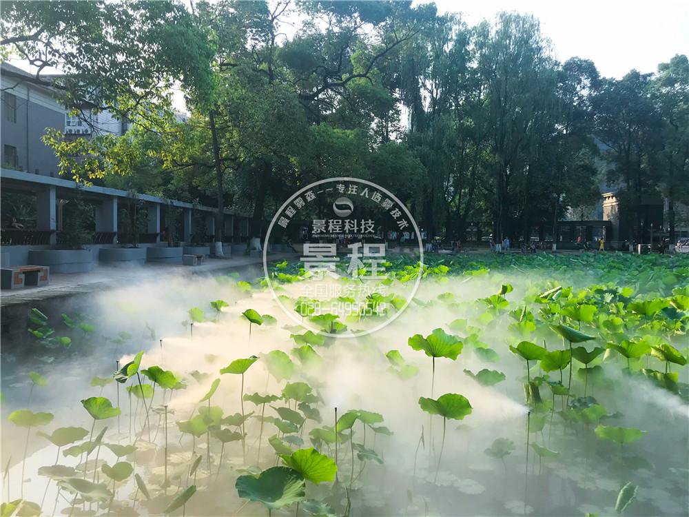 公园水景喷雾系统,四川喷雾景观